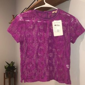 Lily White Vibrant lace top